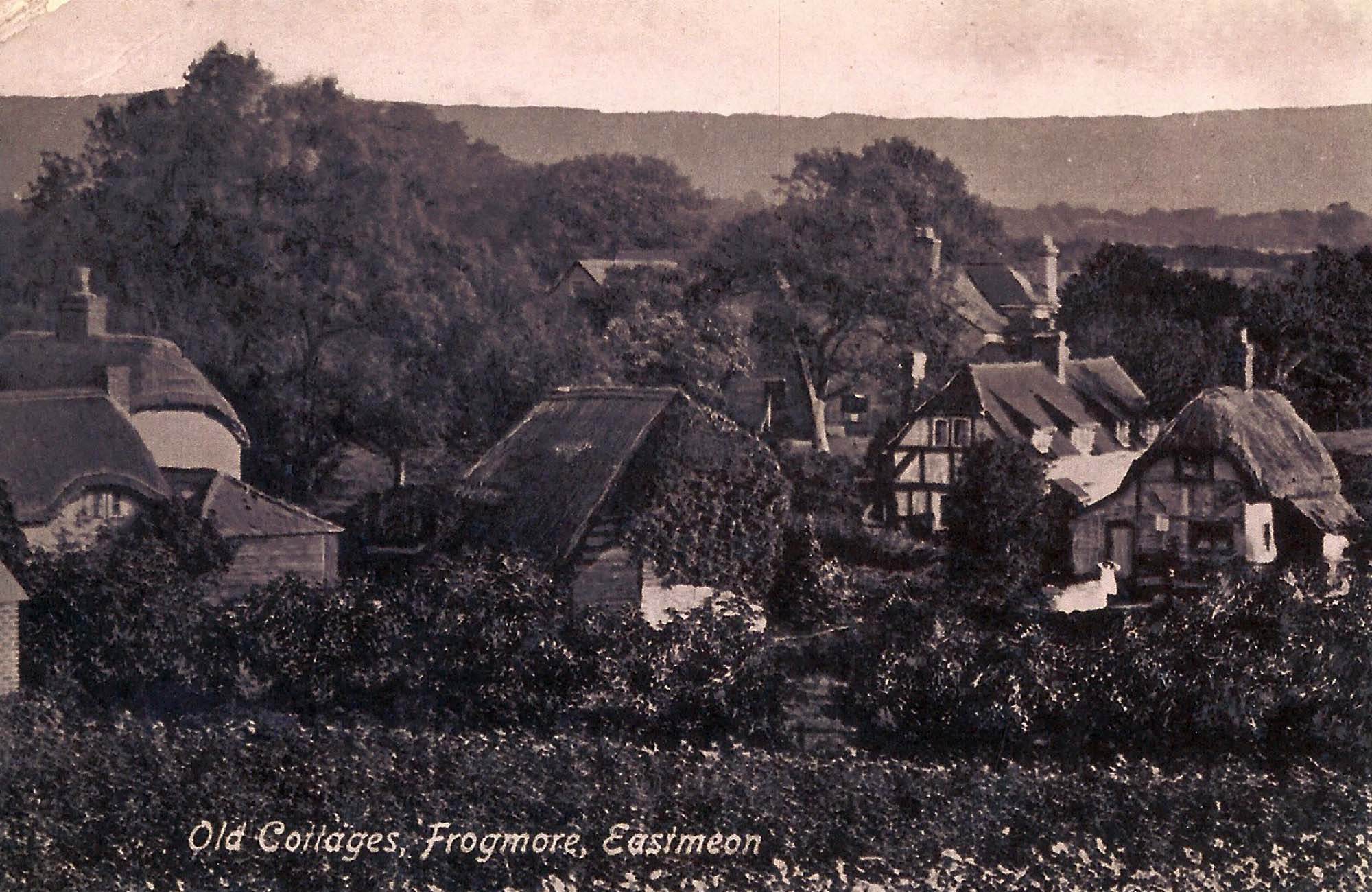 This view of Frogmore was used as a Post Card, probably in the 1890s.