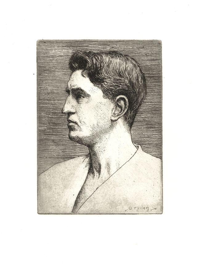 Robert Bryden self portrait