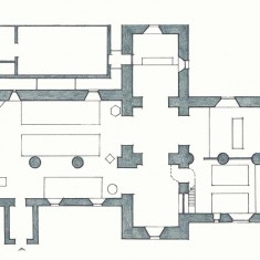Plan of Church and (top left) Church Hall