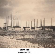 Taking shape March 1922