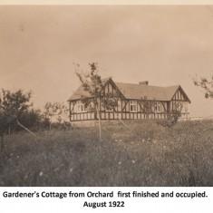 Gardener's Cottage 1922