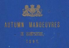 Autumn Manoeuvres 1891