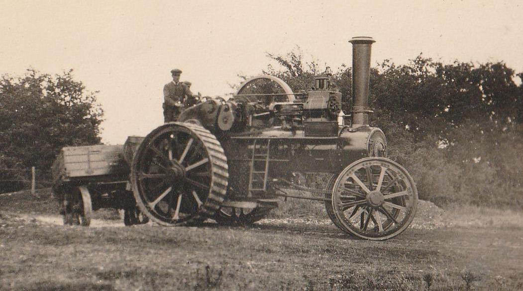 Juggernaut arrives on site, September 10th 1919