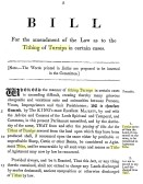 The Tithing of Turnips Act 1835