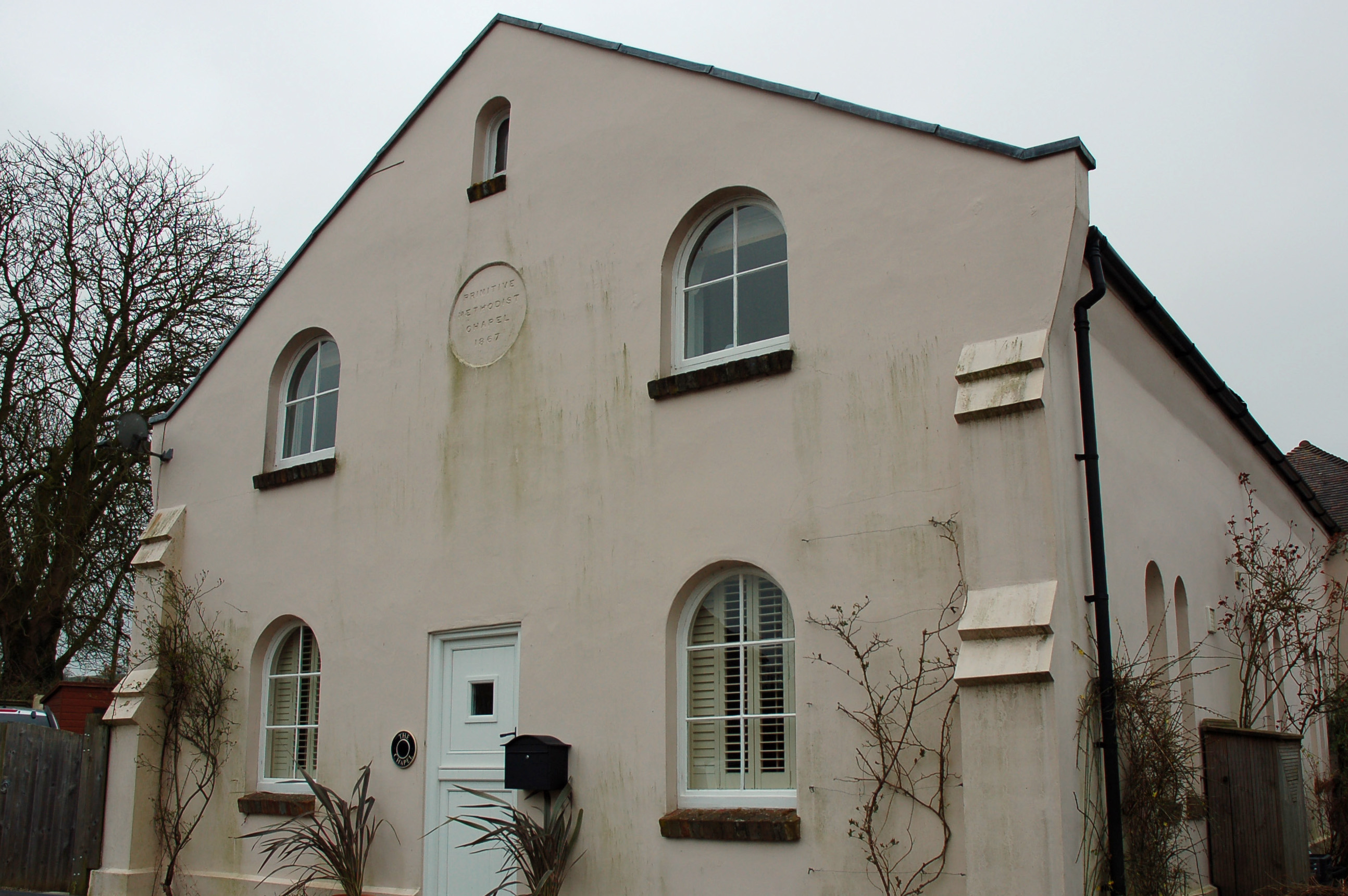 East Meon's Primitive Methodist chapel, one of the three Nonconformist chapels in East Meon when Rose Andrews was born.