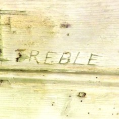 Inscription 'T'Treble'. Westbury agent in the 1890s