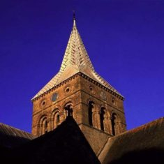 Spire of All Saints, photographed by Chris Warren | Chris Warren
