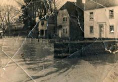 Old Photo of 1953 Flooding