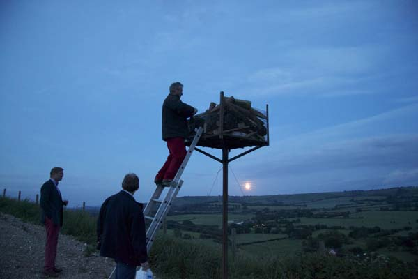 Golden Jubliee celebrations June 2002. Another beacon, on Butser, is visible. | Michael Blakstad