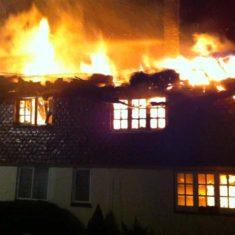 Richard Gaisford's photo of 2013 blaze | Richard Gaisford