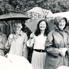 left to right, Audrey Street, Mrs Fisher, Bridget Lambert, Betty May (District Nurse) and Rosemary Ryder | Stan Smith