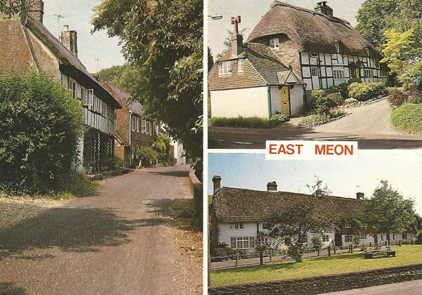 Postcard of East Meon