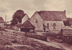 Postcard of Court Farm