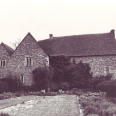 Photographed after Morley Horder had converted the farm yard to a garden, possibly in the 1930s