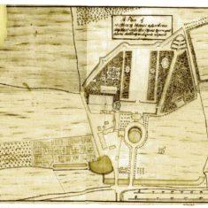 Layout plan of Westbury House park by Charles Bridgeman, prominent 18th century landscape designer. | Firle Place Estate