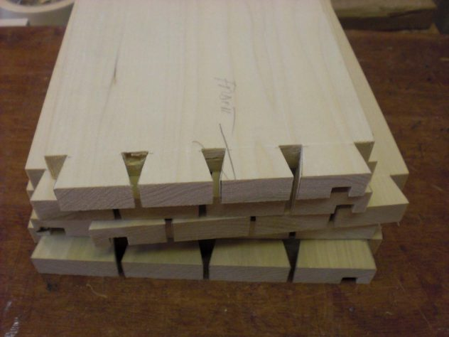 Dovetails for the Millennium Tapestry frame