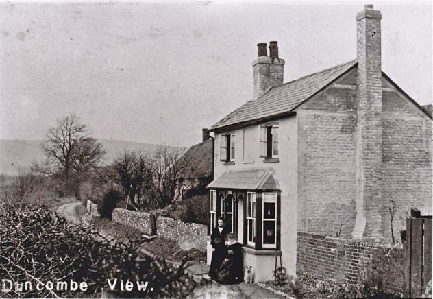 Duncombe View is today 'Appleberry Cottage'., on Workhouse Lane.