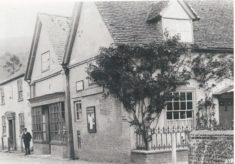 Outside of East Meon Post Office