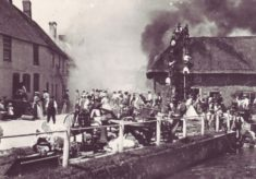 Fire at Potter's General Warehouse