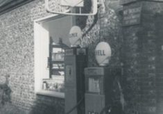 Glenthorne Garage Petrol Pump