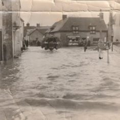 Flooding was common in the High Street until the 1950s.