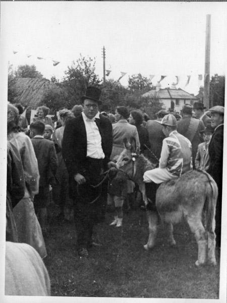 J. Pollard at the 1953 Coronation celebrations
