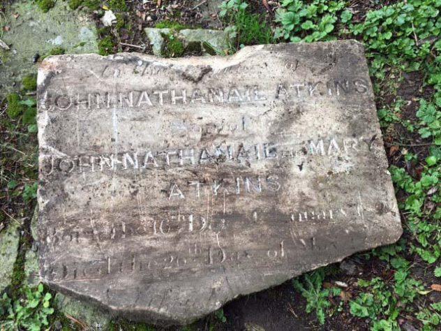 JN Atkins Gravestone