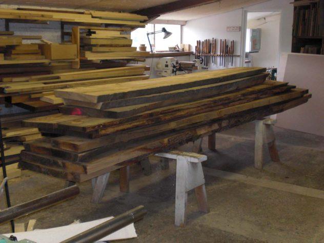 Kiln-dried boards