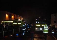 Firemen at Night