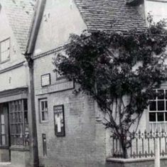 After John Nathaniel Atkins retired, the Post Office was established opposite The George Inn.