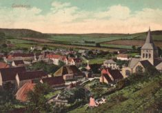 Postcard of East Meon from Park Hill
