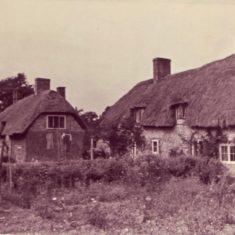 what are today known as Kews (closer) and Paupers Cottages were restored in the 1930s by Morley Horder,