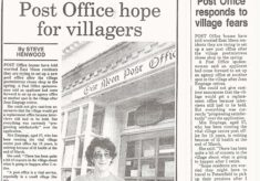"""Post Office Hope"" Newspaper Cutting"