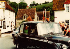 Picture of Elizabeth II in East Meon