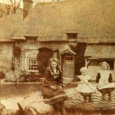The Abourrow family outside Riverside