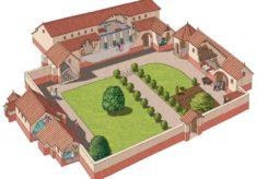 Model of Roman Villa at Stroud