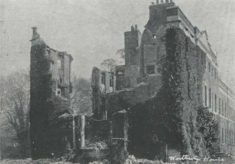 Ruins of Westbury after Fire