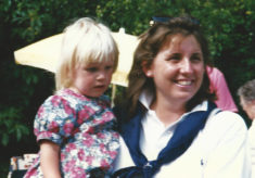Sarah Rogerson and daughter