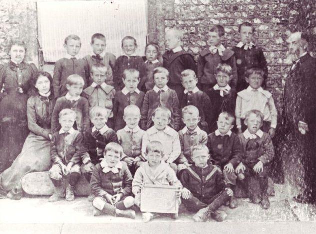 Schoolboys in early 1900s