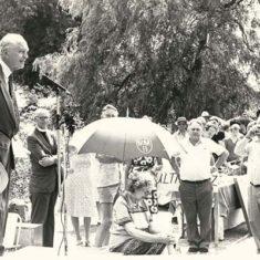 Sir Alec Douglas Home  c.1982, with Rev Rodney Smith | Stan Smith