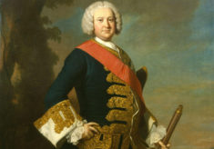 Portrait of Sir Peter Warren by Thomas Hudson