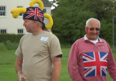 Spectators at the East Meon Olympics