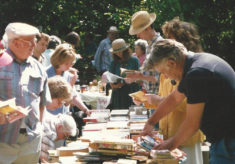 Book Stall at Church fete