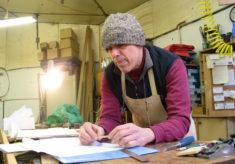 Steve in Workshop
