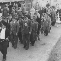 Coronation procession, June 1953