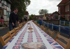 Preparing the Diamond Jubilee Picnic