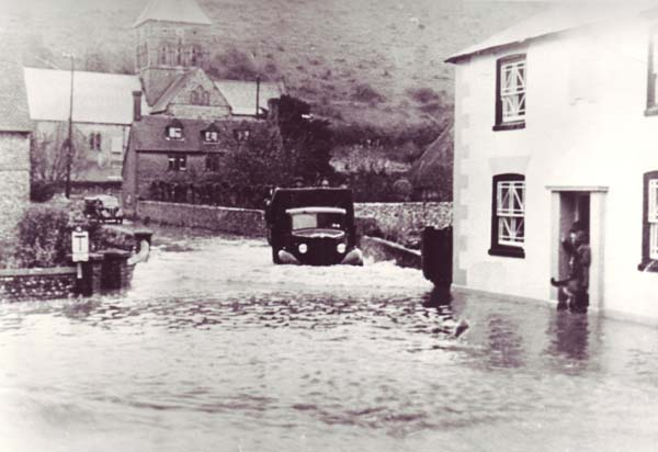 Flooding was common in the 1950s.
