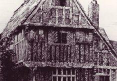 Tudor House in Bryden Print