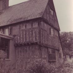 Tudor House from north with back of shop.
