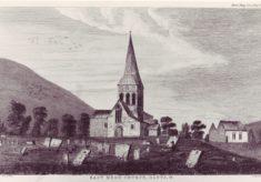 Church etching